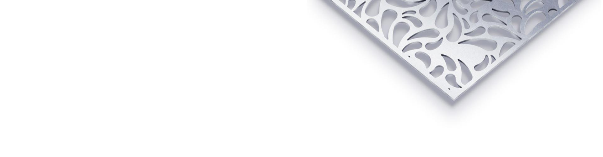 Designbleche mit dekormuster – perfolinea.de